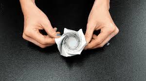 Blind Origami